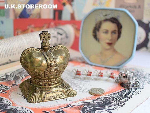 画像1: CO034 エリザベス女王  コロネーション 王冠バンク (1)