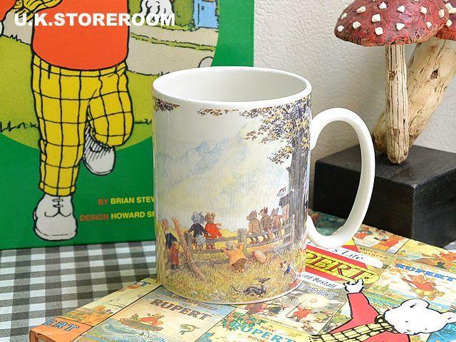 画像1: CH082 Wedgwood ウェッジウッド  ルパートベア ラージマグカップ (1)