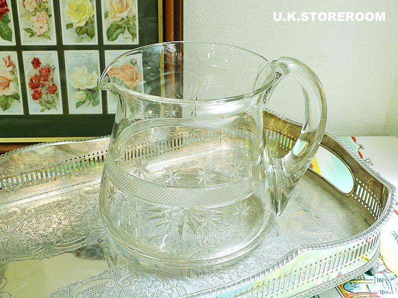 画像1: GS027 ガラス製 ジャグ (1)