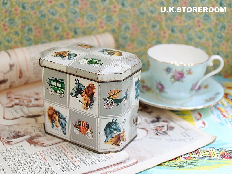画像1: CO053 Batger & Co. 馬車 トフィー缶 (1)